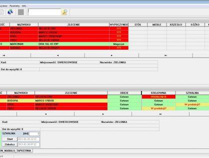 Oprogramowanie wspomagające organizację i kontrolę produkcji