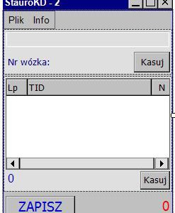 Oprogramowanie wspomagające magazynowanie i pobierania materiałów